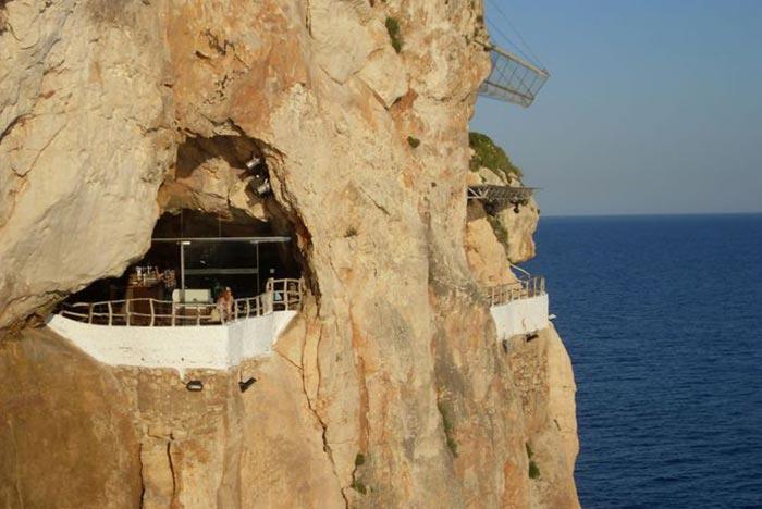 La Cova d'en Xoroi en Menorca