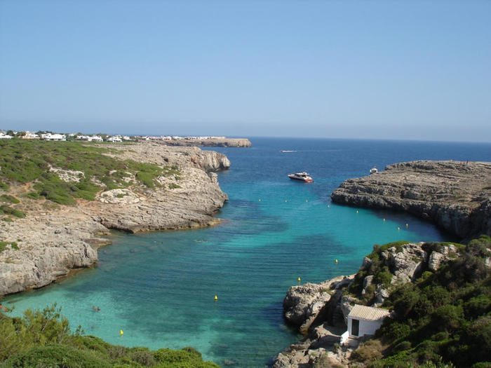 Cala Bindali, Menorca