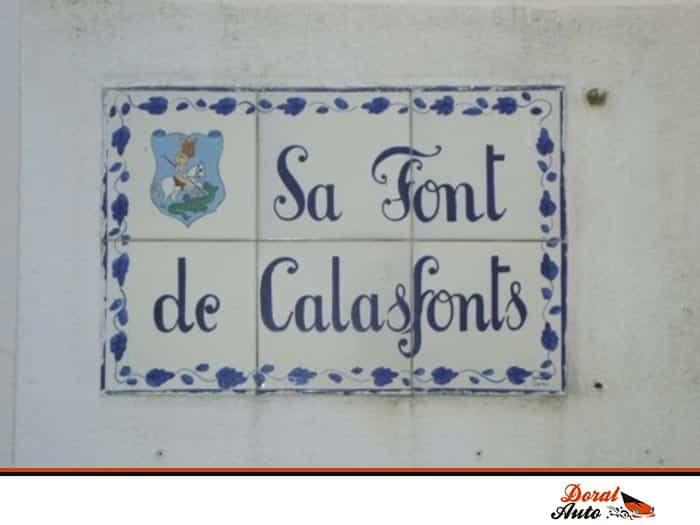 Sa Font de Calasfonts, Menorca- Doral Auto