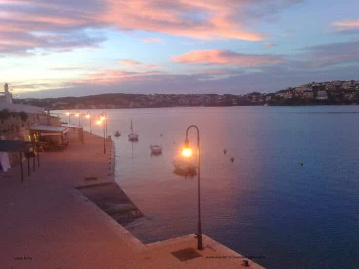 Es castell, Cales Fonts. Menorca.
