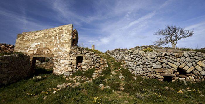 Castillo de Santa Águeda en Menorca