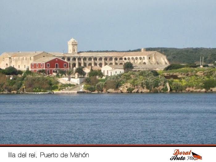 Illa del Rei, Puerto de Mahón, Menorca