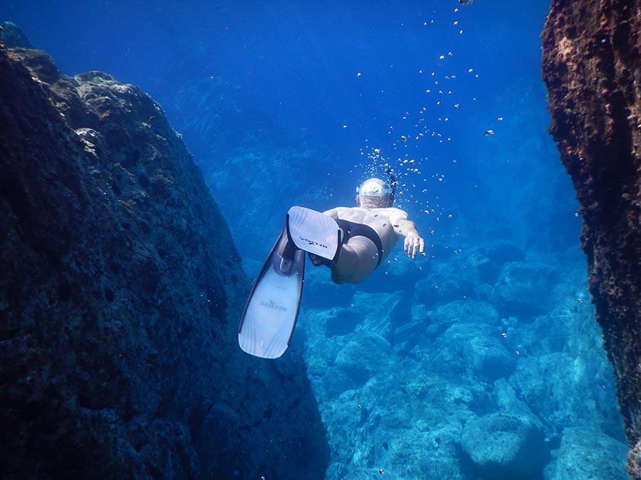 snorkeling Menorca