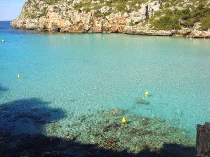 Las playas de Menorca