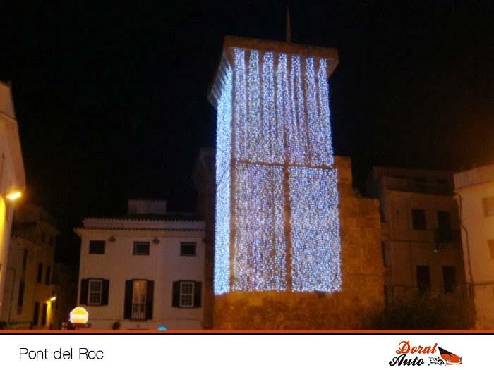 Pont del Roc, Menorca en navidad
