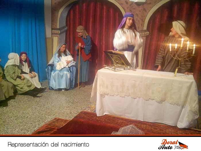 Nacimiento viviente en Menorca