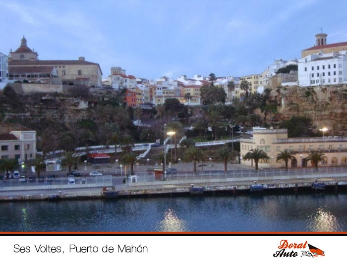Ses Voltes, Puerto de Mahón. Menorca
