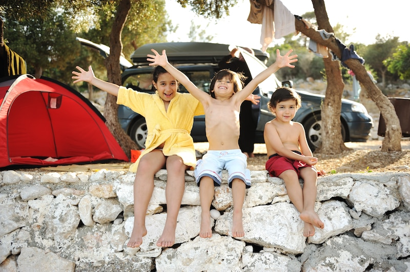 viajar a Menorca con niños