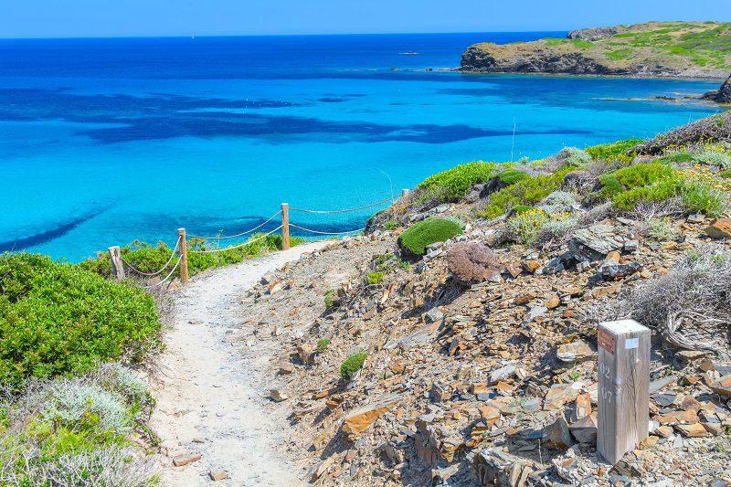 rutas por Menorca