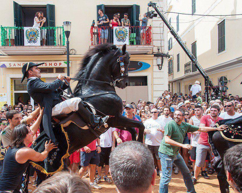 Menorquian horse