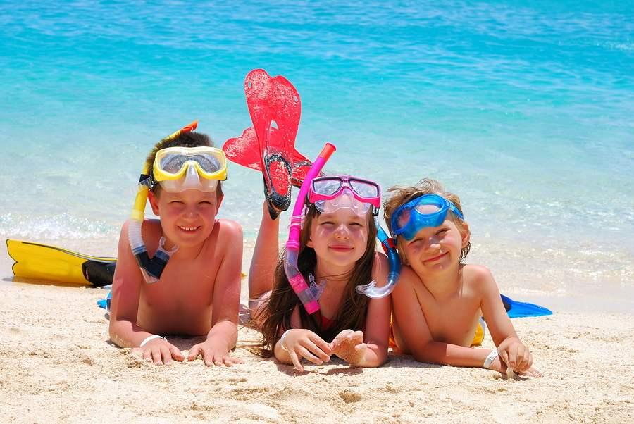 Voyager avec des enfants à Minorque