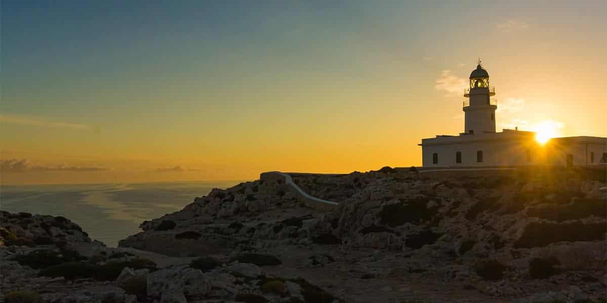 puestas de sol mágicas en Menorca