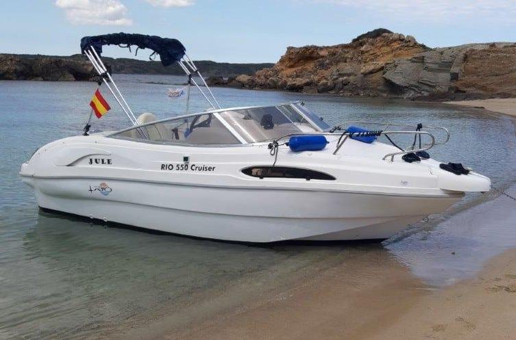Rent a boat in Menorca