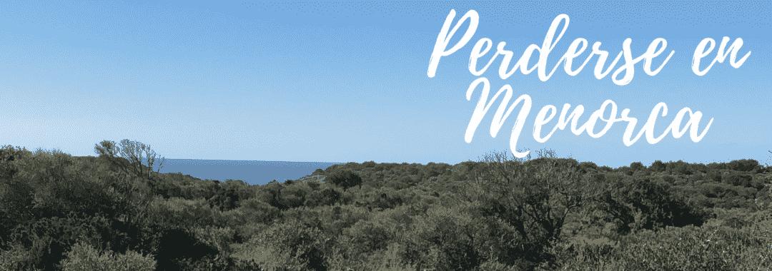 Panorámica paisaje Menorca