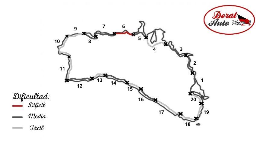 Mapa del Camí de Cavalls